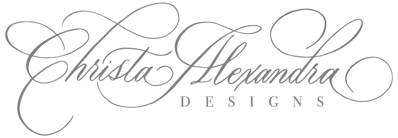 Christa Alexandra Designs | Fine Wedding Invitations, Letterpress and Custom Design